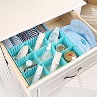 Разделители для ящиков в тумбочки, в шкафчики. 4шт/упак