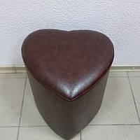 Пуфик коричневый шоколадный, фото 1