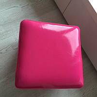 Пуфик малиновый квадратный, фото 1
