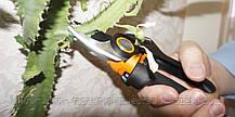 Плоскостной секатор Fiskars с силовым приводом (1023630), фото 2