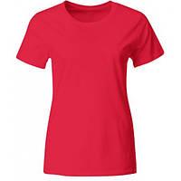 Женская фирменная футболка промо (Розовый)