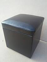 Пуфы с отделением для хранения аксессуаров черный красный, фото 1