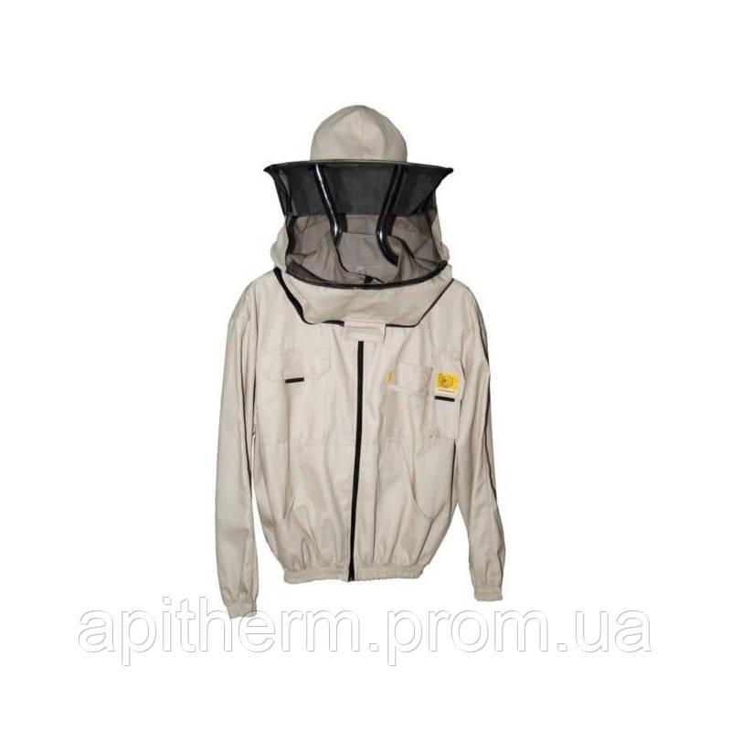 Куртка пчеловода 100% Коттон. Размер XL / 52-54. Рост 182 см.