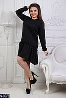 Изящное  платье, французский трикотаж, размеры 50-52, 54-56