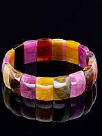 Браслет из натурального камня - турмалин, «Восприимчивость» - Браслет Турмалин 46,8 г.
