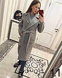Женское стильное качественное шерстяное пальто в расцветках, фото 3