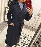 Женское стильное качественное шерстяное пальто в расцветках, фото 8