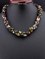 Ожерелье из Турмалина 45 см – «Воспоминание о лете»