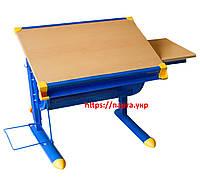 Растущий Детский стол, парта KD-F1122, МДФ бук, фото 1