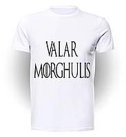 Футболка GeekLand Игра Престолов Games of Thrones Valar Morghulis Logo art GT.01.093