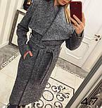 Женское стильное шерстяное пальто с поясом на запах (8 цветов), фото 5