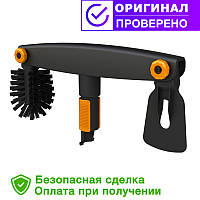 Щетка для чистки желоб Fiskars QuikFit 135542