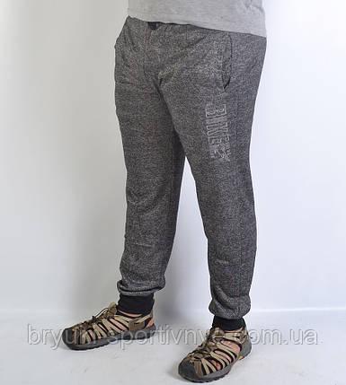 Спортивные  брюки под манжет - меланж, фото 2