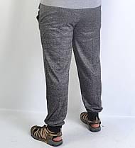 Спортивные  брюки под манжет - меланж, фото 3