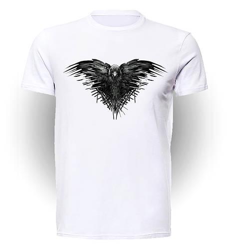 Футболка GeekLand Игра Престолов Games of Thrones Raven art GT.01.102