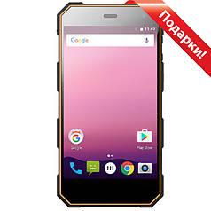 """➤Смартфон 5"""" NOMU S10 Pro 3/32GB Black + Orange 4 ядра IP68 камера Sony IMX219 8 Мп 5000 mAh Android 7.0"""
