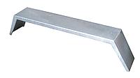 Крыло грязезащитное оцинкованное R13 для двухосного прицепа