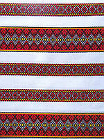 Ткань с украинской вышивкой Фанни ТДК 76 1/1, декоративка,декоративна тканина, тканини