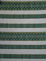 Ткань с украинской вышивкой Фанни ТДК 76 1/5, декоративка,декоративна тканина, тканини