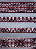 Ткань с украинской вышивкой Фанни ТДК 76 1/8, декоративка,декоративна тканина, тканини