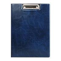 Папка-планшет Axent Xepter, A4, с металлическим клипом, синяя
