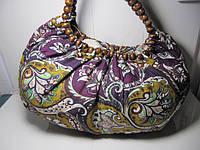 Женская сумка «Бусы» разных цветов 45х23 см, фото 1