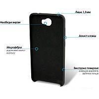 Накладка на заднюю крышку GlobalCase Huawei Y5 II (Cap-X) Black