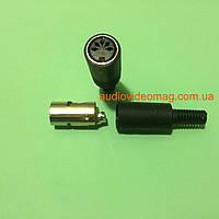 Гнездо 5 pin DIN разборное, для пайки на кабель