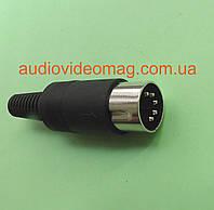 Штекер 5 pin DIN разборной, на кабель