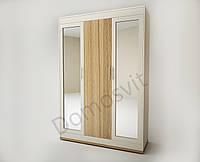 Шкаф Лион на 3 дверцы с зеркалом, фото 1