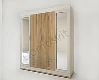 Шкаф Лион на 4 распашные дверцы ШО-4