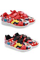 Кроссовки для девочек оптом, Disney, 26-33 рр.,  № 860-394