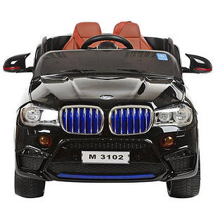 Детский электромобиль Bambi BMW Х5 M 3102 EBLRS черный, фото 2