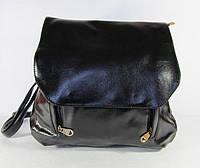 Стильная сумка-рюкзак из эко кожи