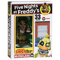 Конструктор 5 ночей с Фредди McFarlane Toys Five Nights В центре окна Nightmare Chica