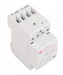 Контактор модульный Electro House 25А 230V 4 нормально открытых контакта