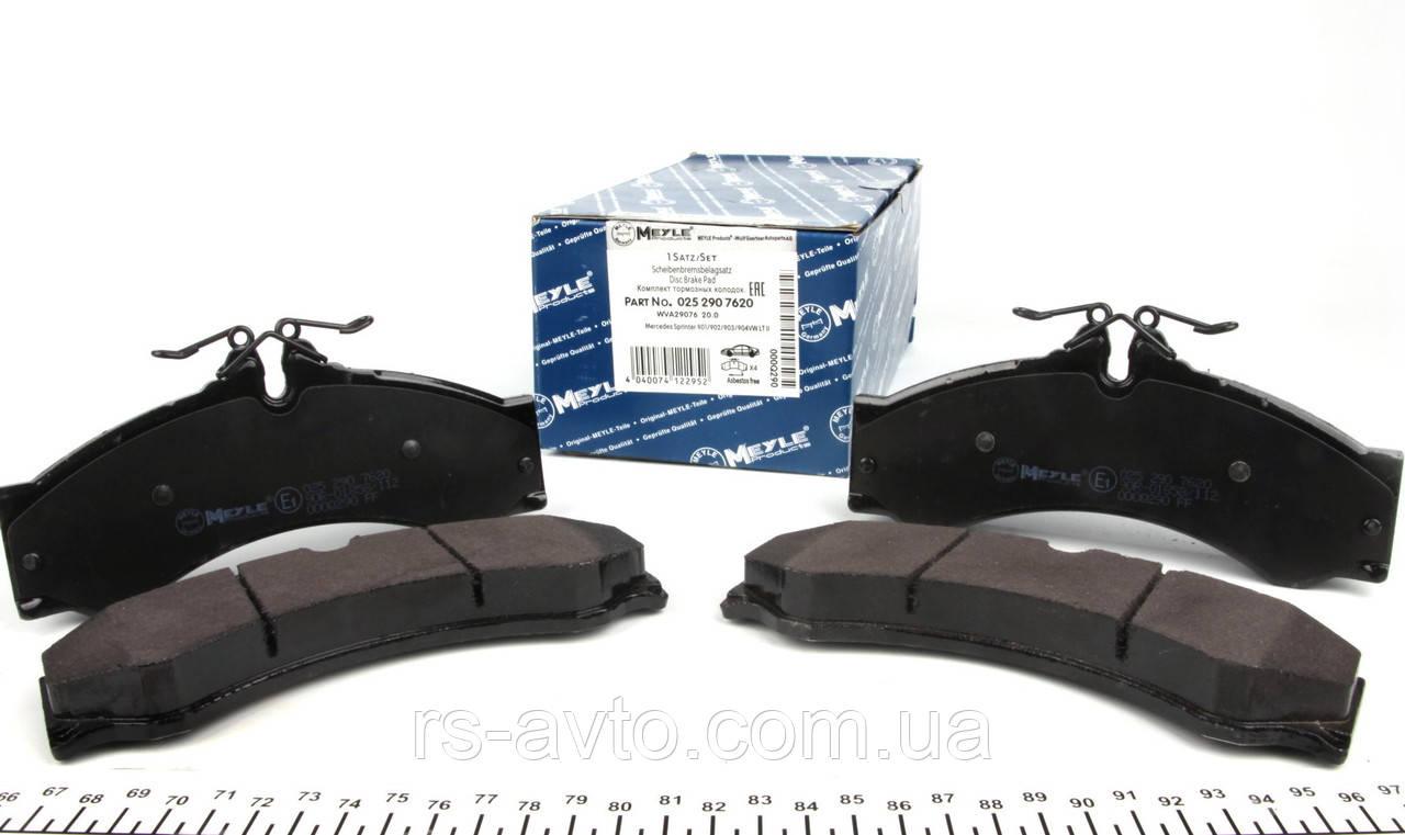 Колодки тормозные (передние, задние) MB Mercedes Sprinter, Мерседес Спринтер 408-416, Volkswagen LT, Фольксваген LT 46 96- 025 290 7620