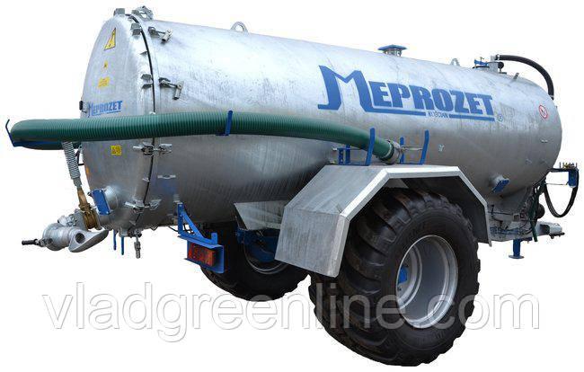 Ассенизационная машина Meprozet PN-100/2 (10275 л, оцинкованная)