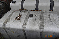 Бак топливный стальной 600 литров б/у на разборке тягачей