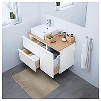 Шкаф для белья GODMORGON 40x47x58 см лак.