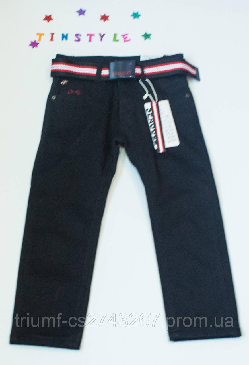 f3e18867e11 Утепленные черные джинсы для мальчика на рост 110-116 см - Интернет  -магазин