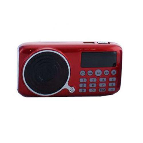Портативная колонка FM радио MP3 USB UKC U-11 c аккумулятором 18650 и LED фонариком JF11