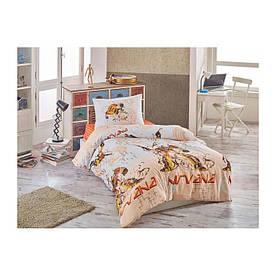 Покрывало стеганное с наволочкой Eponj Home - Nirvana красный 160*220