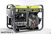 Генератор дизельный (5,5 кВт) BASIC KS 6000 DE (Konner & Sohnen)