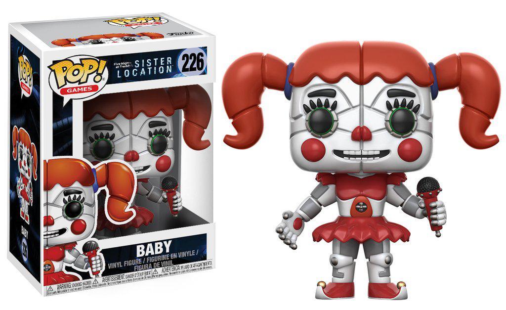 Фигурки 5 ночей с Фредди Funko Pop Games Sister Location  Baby Collectible Figure