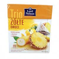Lord Nelson Zolte Owoce Чай фруктовый в пирамидках (20 пакетиков)