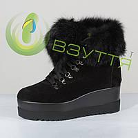 Замшевые ботинки, фото 1