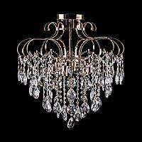 Хрустальная люстра, классическая на 6 лампочек (золото). P5-L0269/6/FG