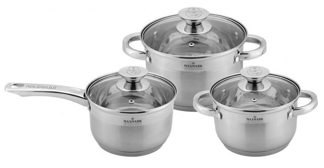 Набор посуды Maxmark MK-3506E (6 предметов)
