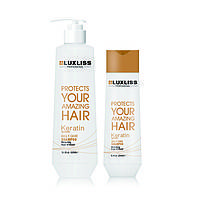 LUXLISS Keratin Products, Luxliss Keratin Smoothing Daily Shampoo - Увлажняющий шампунь 500 мл